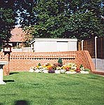 Feature Wall in Garden